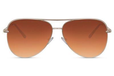 Pilotenbril Jetset Brown
