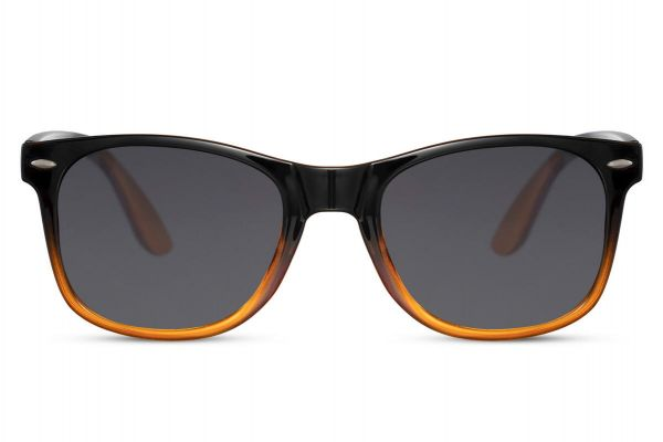 Orange Black Wayfarer