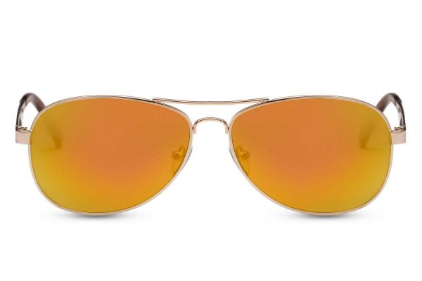 Luxurious Aviator Orange